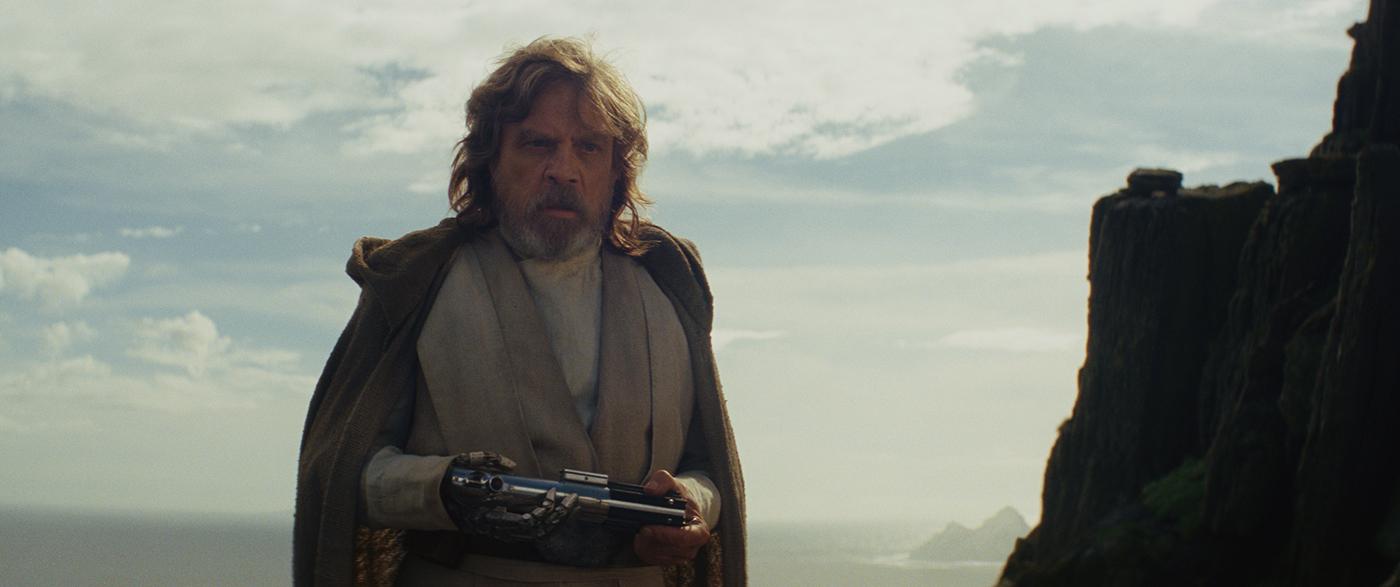 Star Wars: The Last Jedi Luke Skywalker (Mark Hamill) Photo: Lucasfilm Ltd.  © 2017 Lucasfilm Ltd. All Rights Reserved.