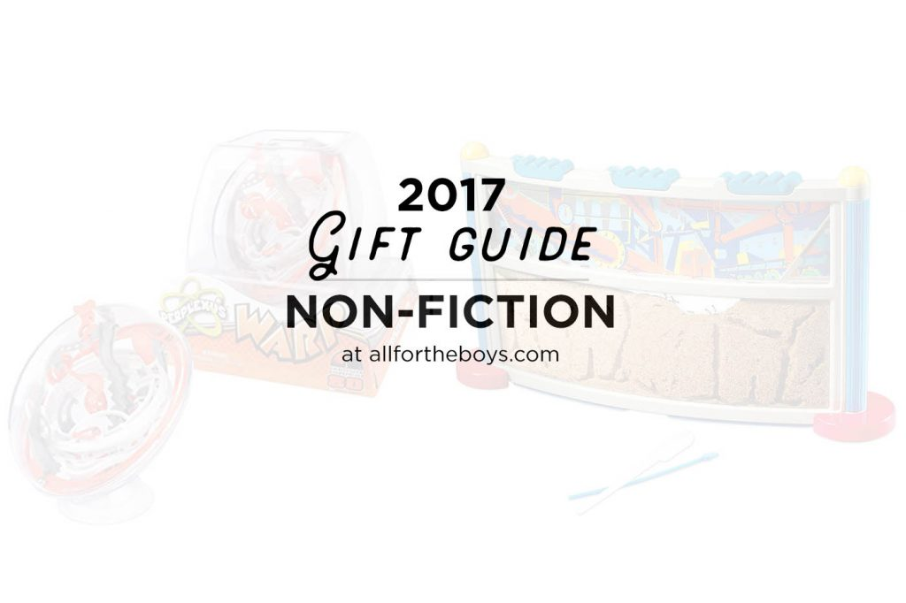 2017 last minute gift guide for kids who love non-fiction, or observing the world around them