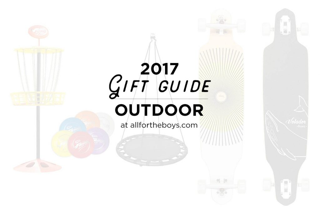 2017 Last Minute Gift Guide: Outdoor