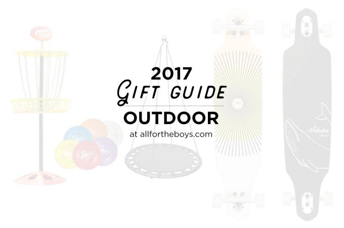 2017 last minute gift guide for getting kids outside whether they love playing outdoors or need a little more inspiration