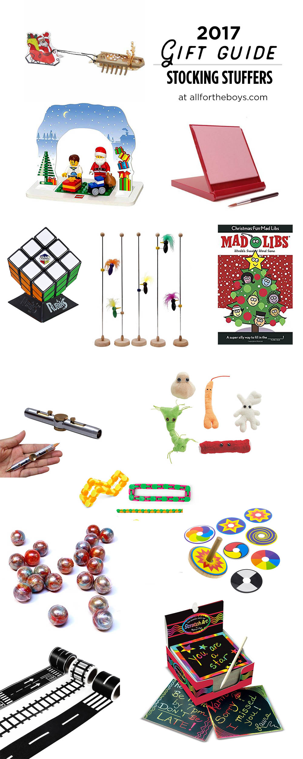 Lots of great last minute gift ideas in this gift guide of stocking stuffers