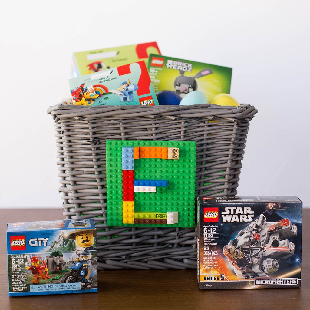 Lego archives all for the boys easy lego themed easter basket negle Choice Image