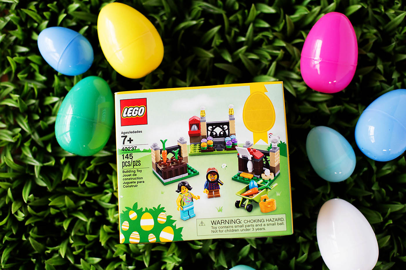 LEGO Easter Egg hunt idea