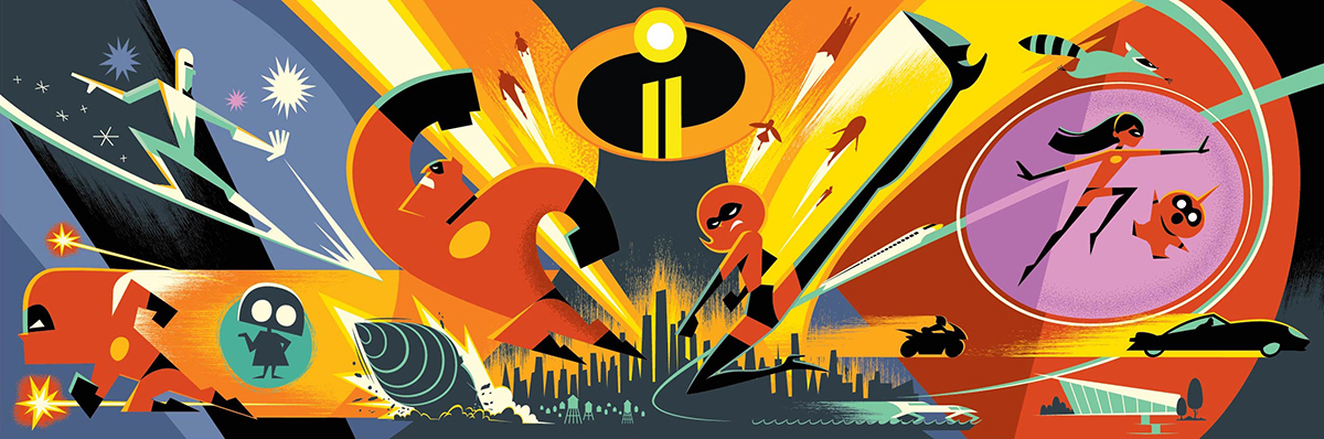 Inside info on creating the world of Incredibles 2 and creating action scenes
