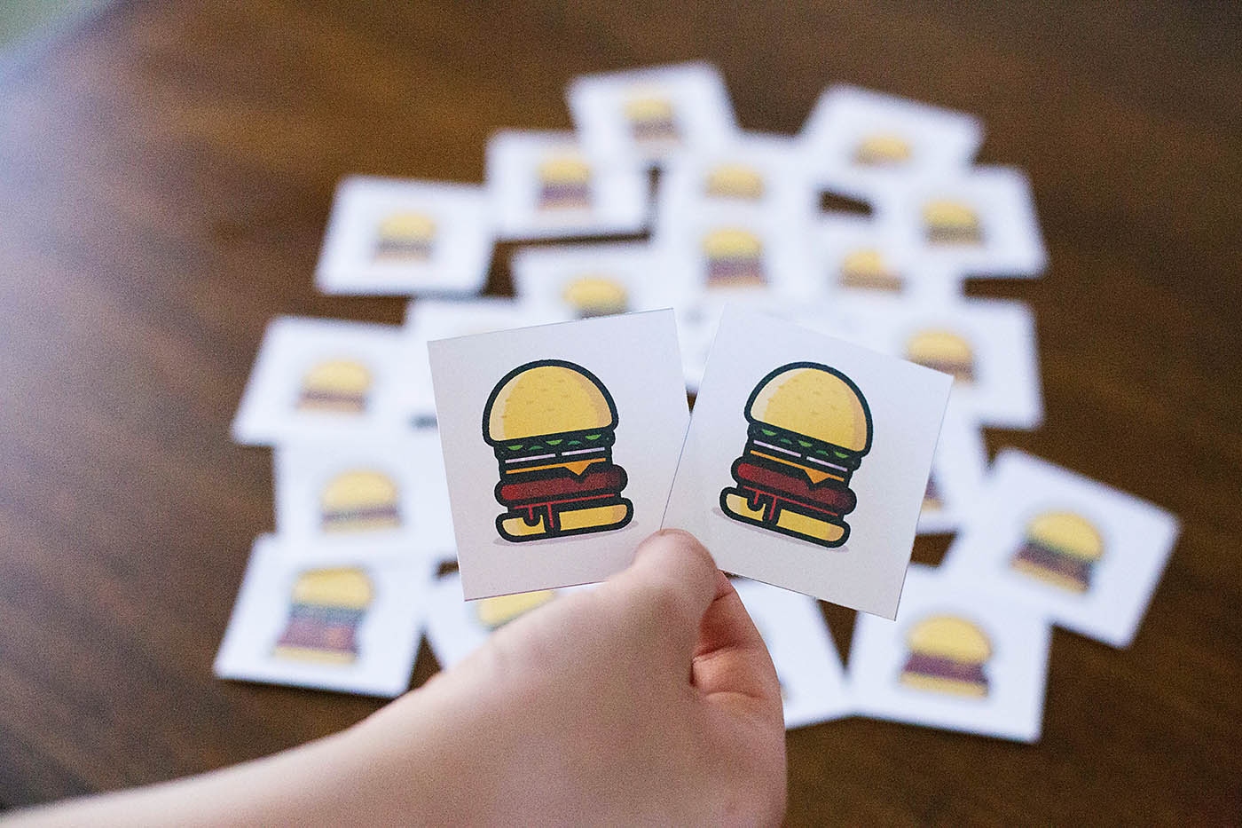 Celebrate National Hamburger Day with a fun hamburger printable game and Culver's