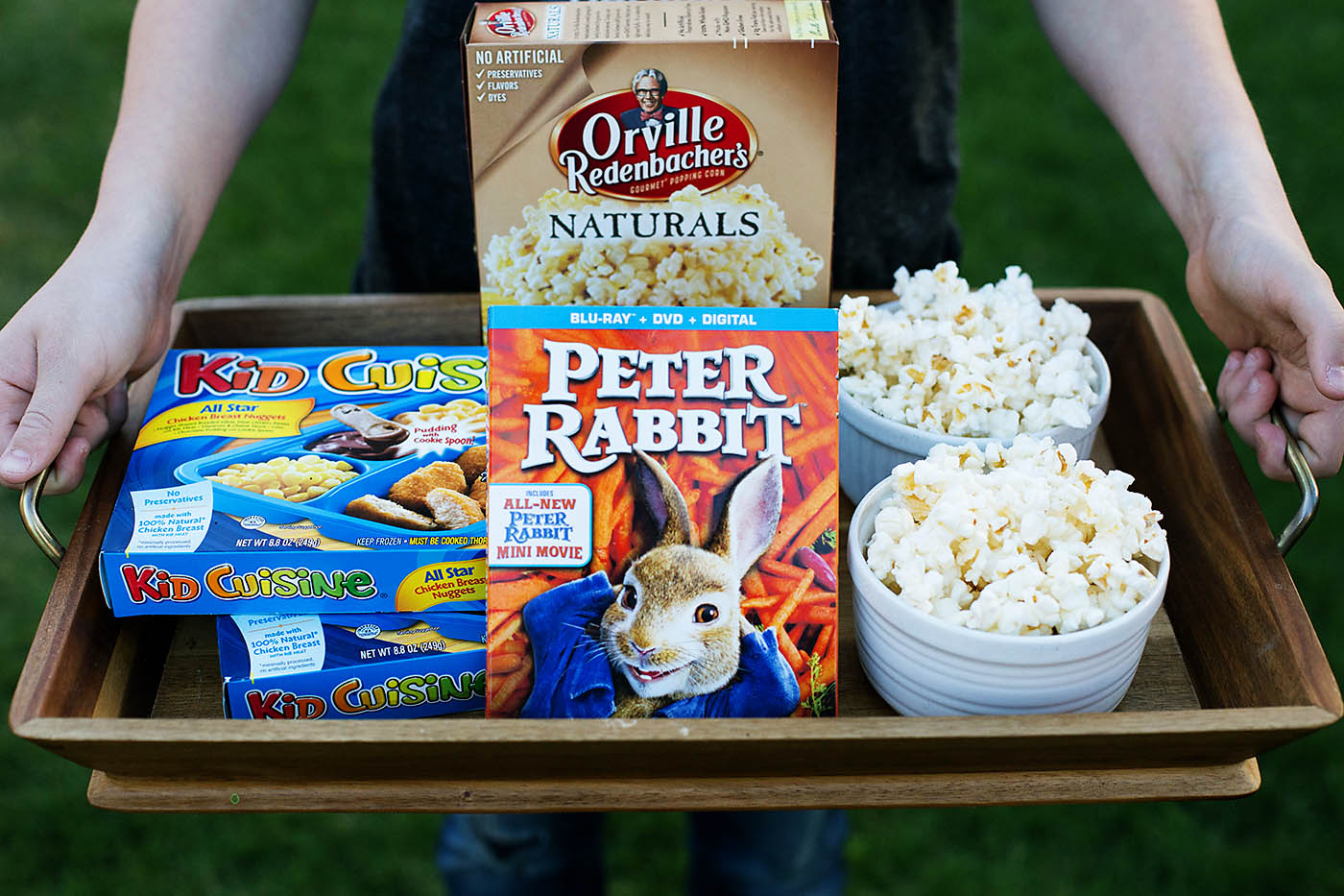 Peter Rabbit family movie night + printable carrot game
