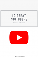 10 Great YouTube Channels for Teens and Tweens