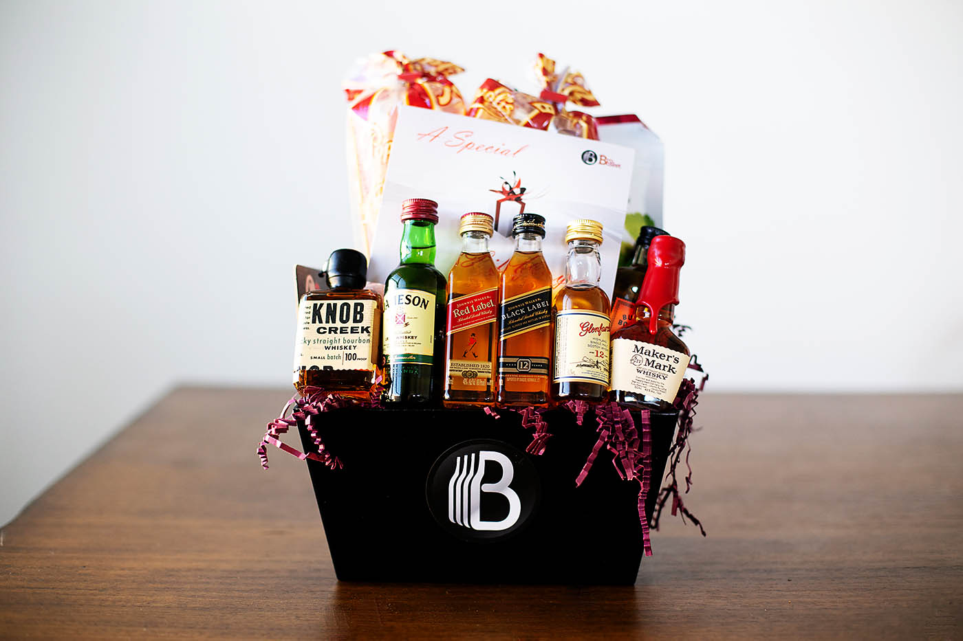 Father's Day gift idea - a Day with Dad ending with an awesome BroBasket
