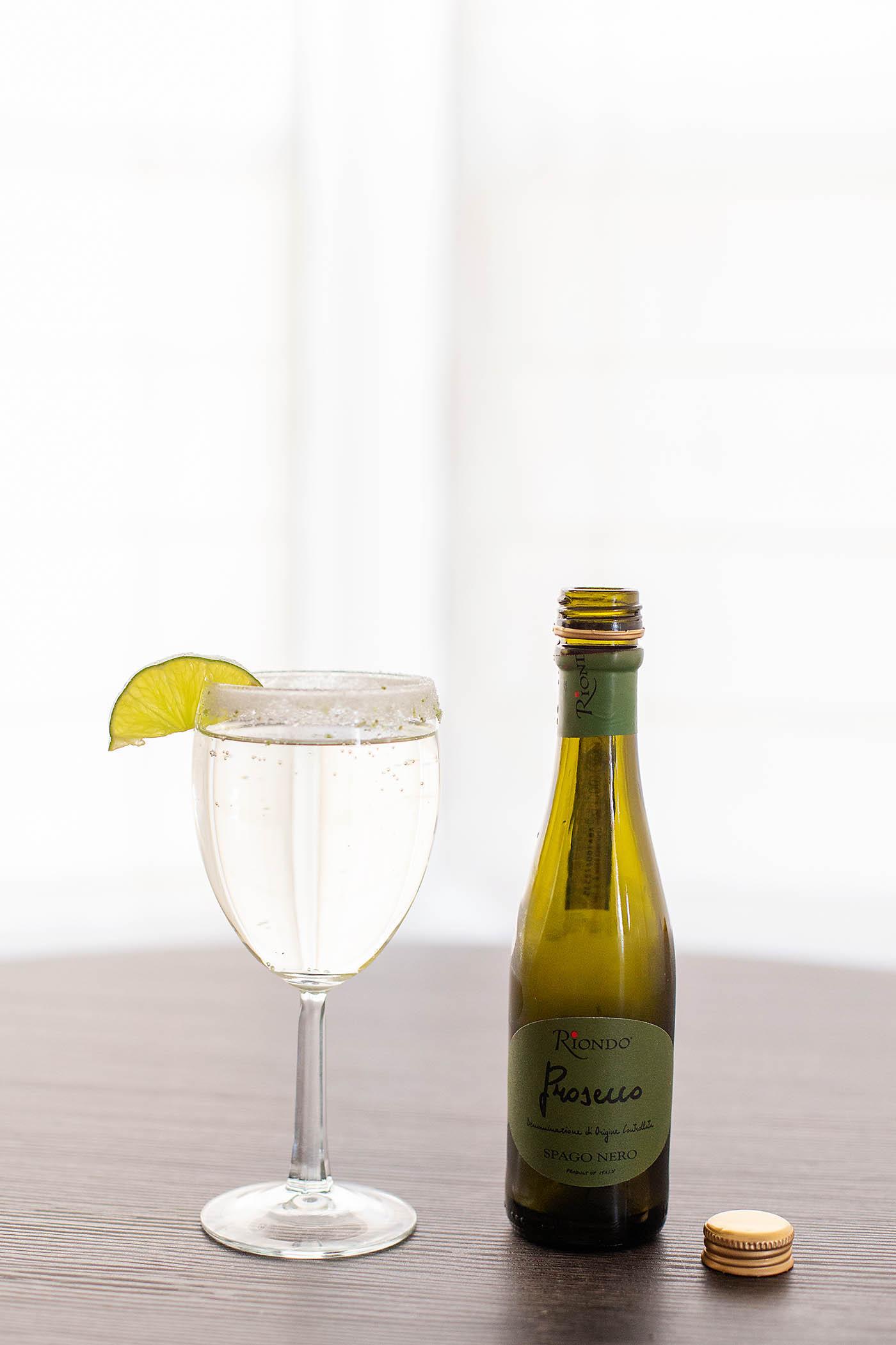 Prosecco Lime Spritzer