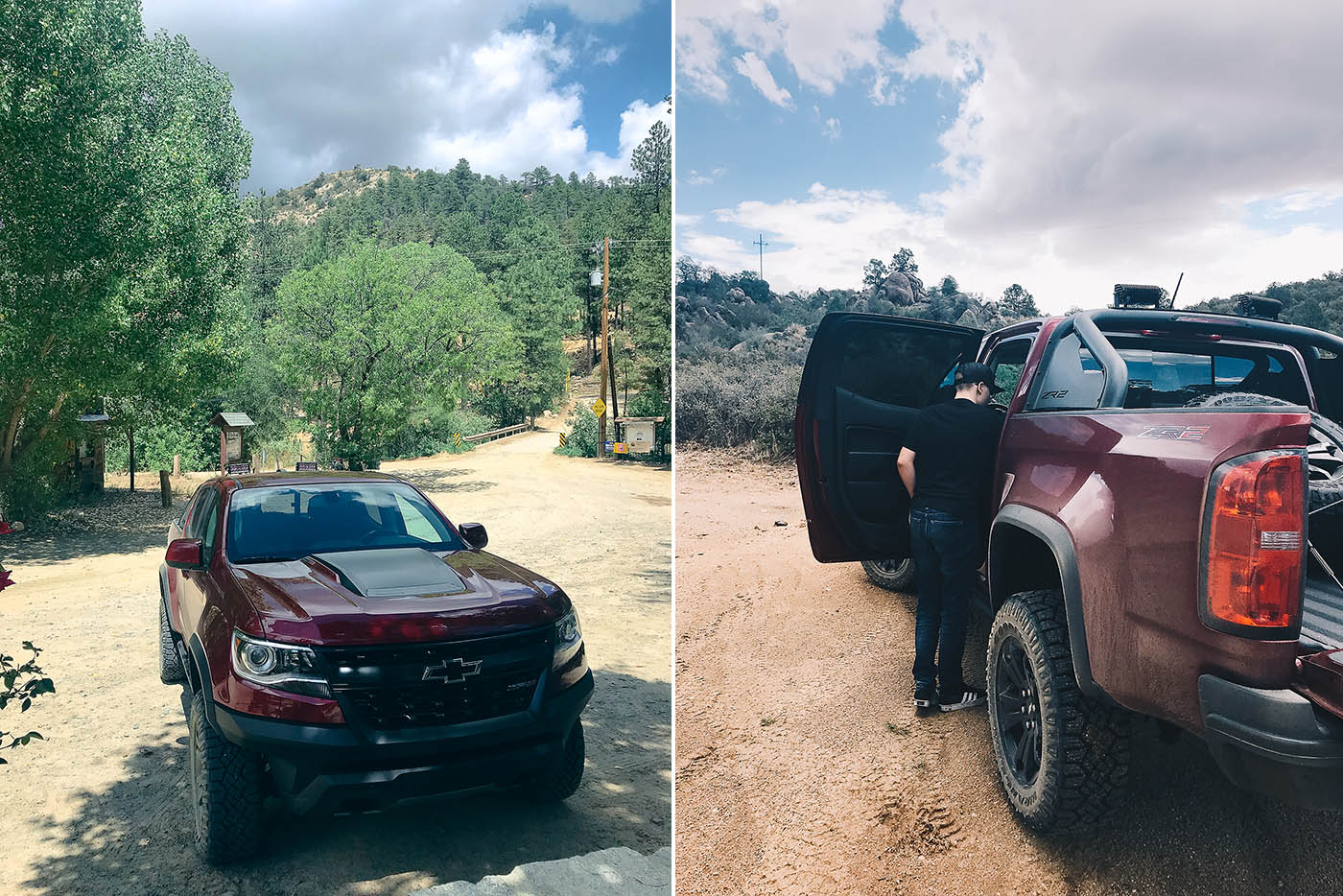 Arizona family day trip in the Chevy Colorado ZR2