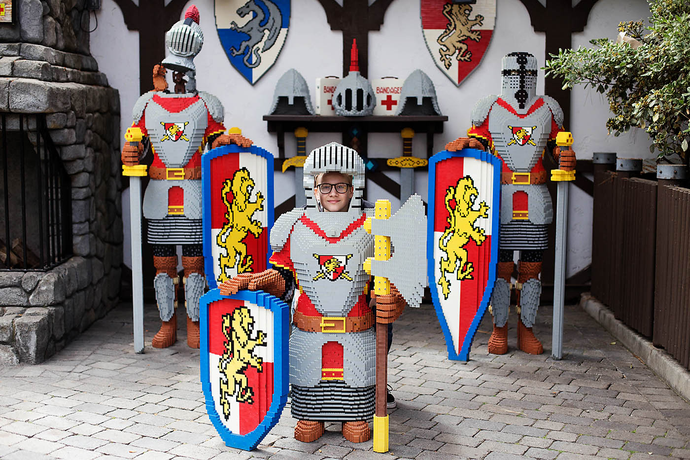 Great reasons to take older kids to the new Legoland Castle Hotel in Carlsbad, CA!