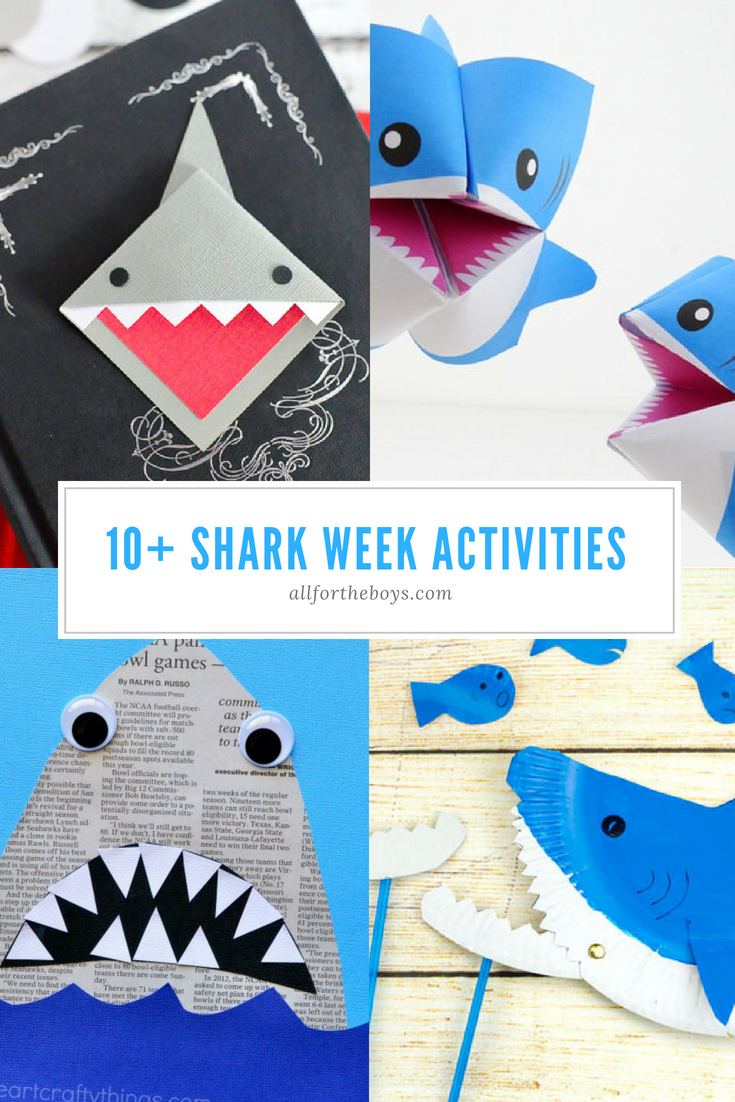 Shark week activity ideas
