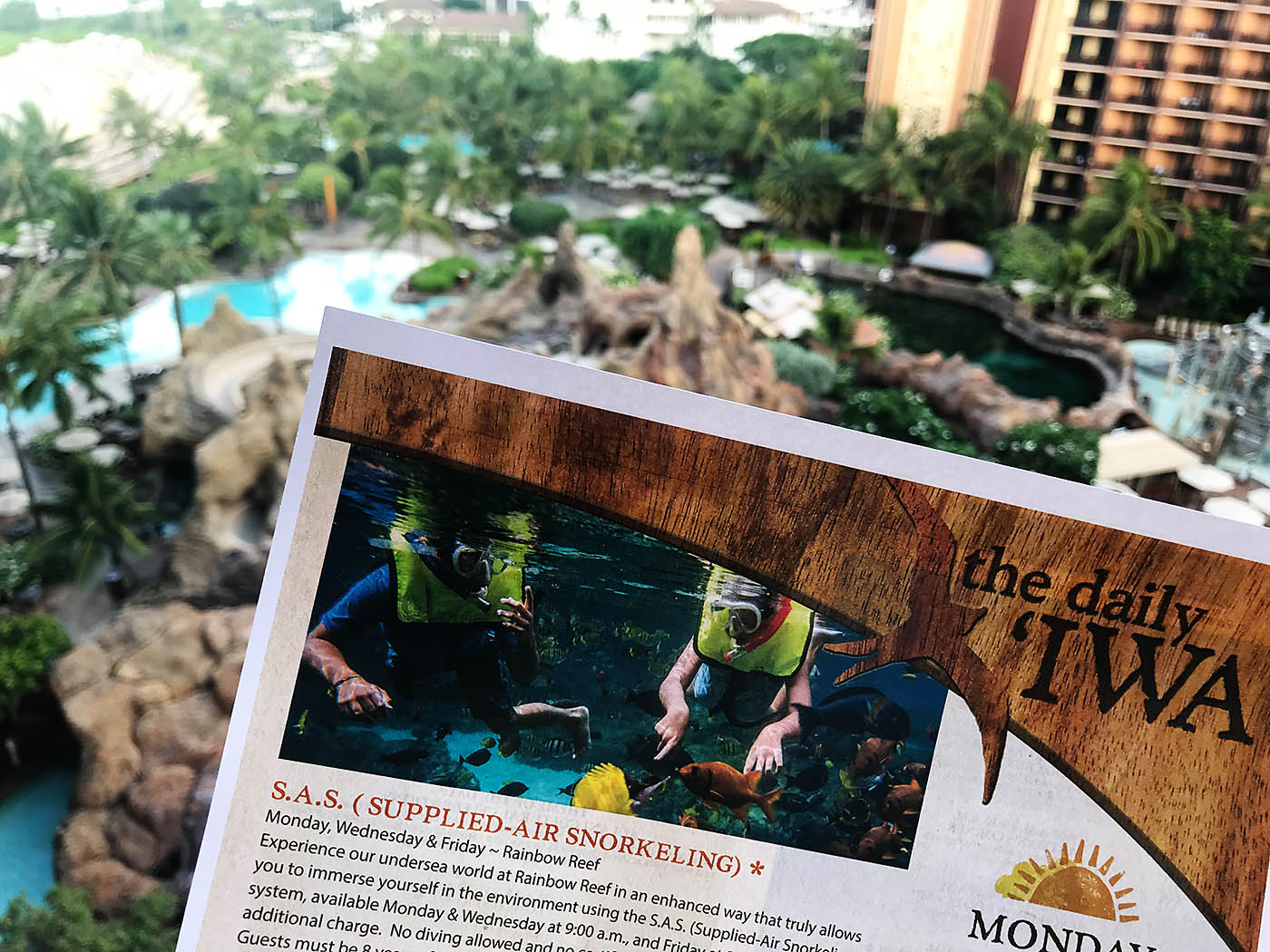 Disney Aulani with teens - activities