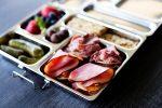 School Lunch Idea: Deli Meat Cracker Bites
