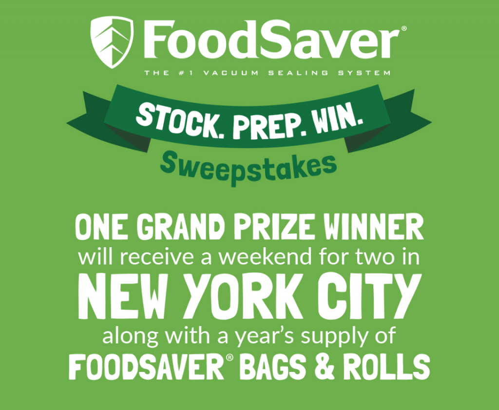 FoodSaver® Sweepstakes