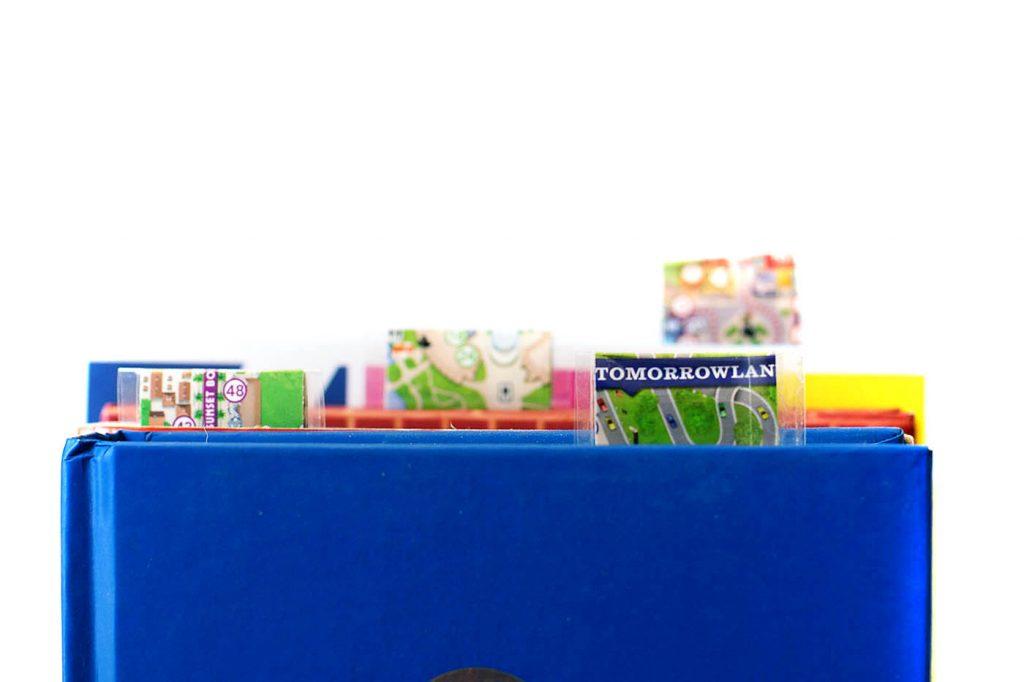 DIY Disney Map Magnetic Bookmark