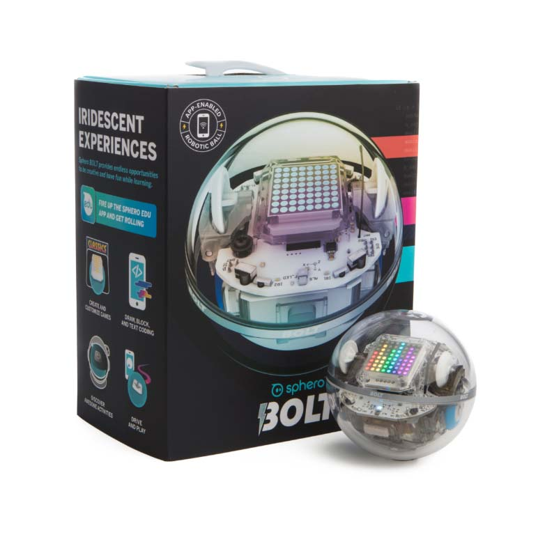 Check Out the Latest Robot from Sphero - Sphero BOLT! — All