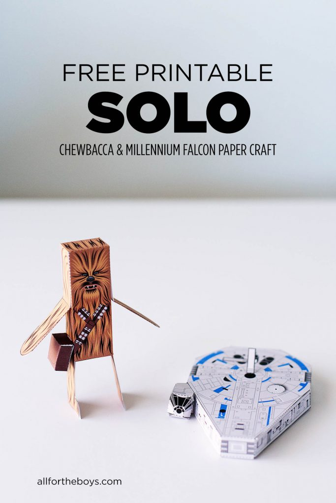 photograph about Star Wars Printable Crafts identify Keep an eye on Solo: A Star Wars Tale at House + No cost Chewbacca