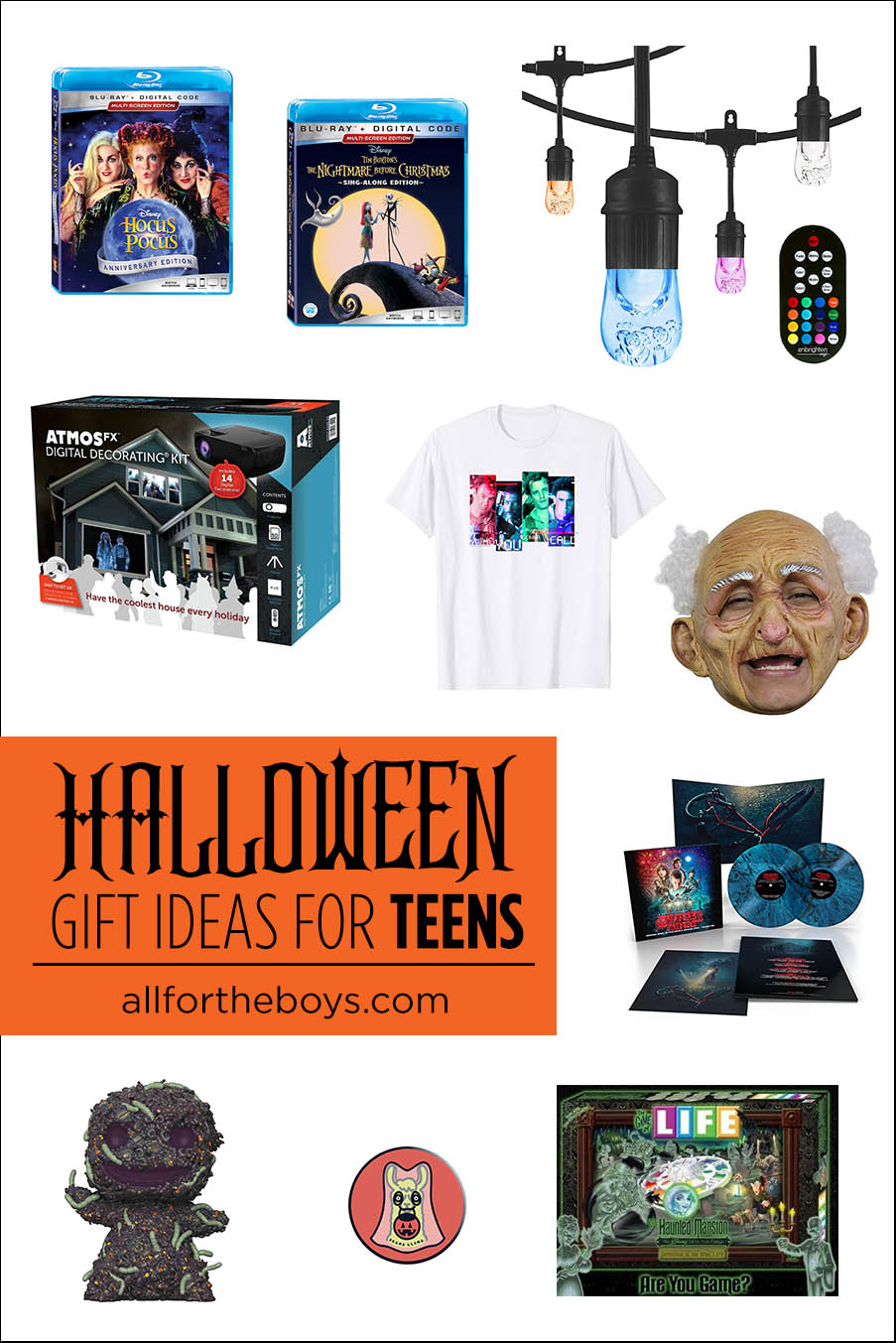 Halloween Gift Ideas for Teens