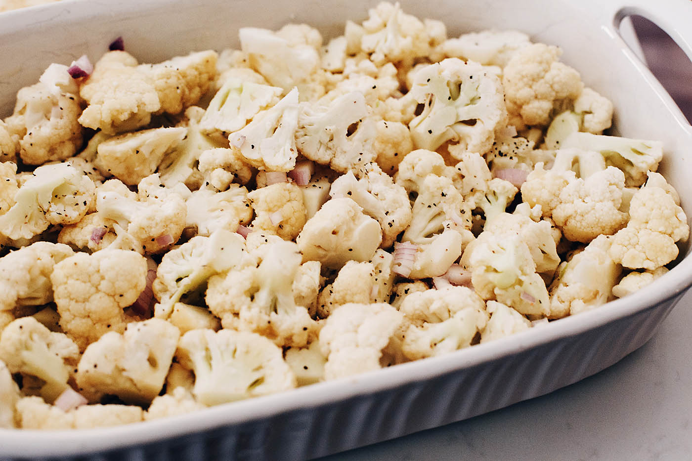 Holiday Cauliflower Casserole recipe