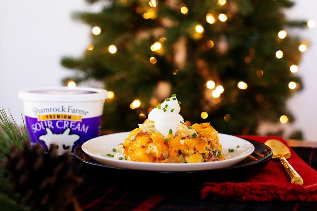 Holiday Cauliflower Casserole recipe