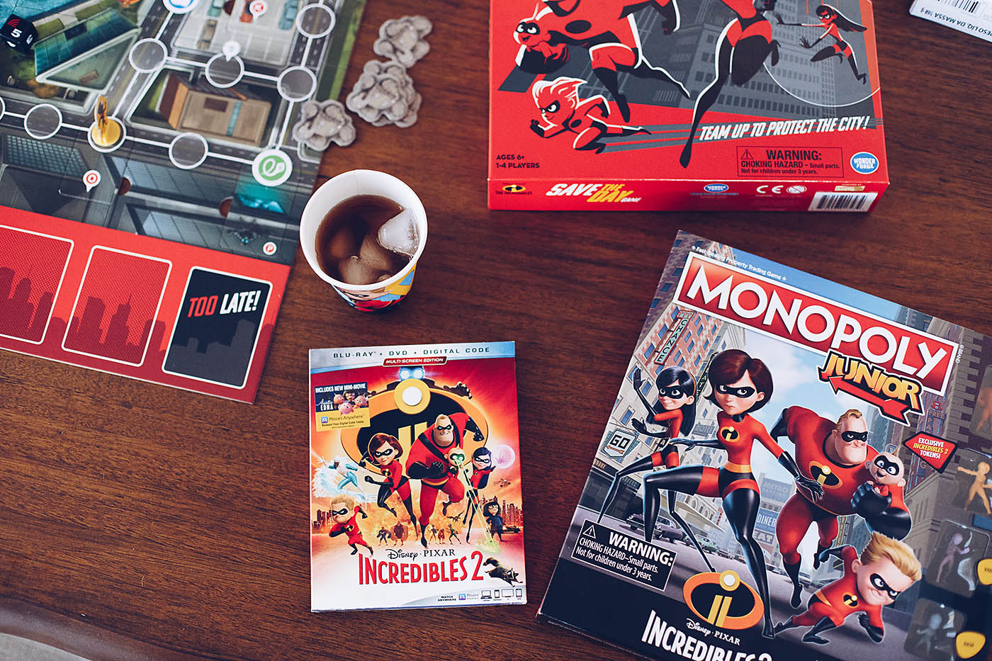 Incredibles 2 Family Movie and Game Night Ideas