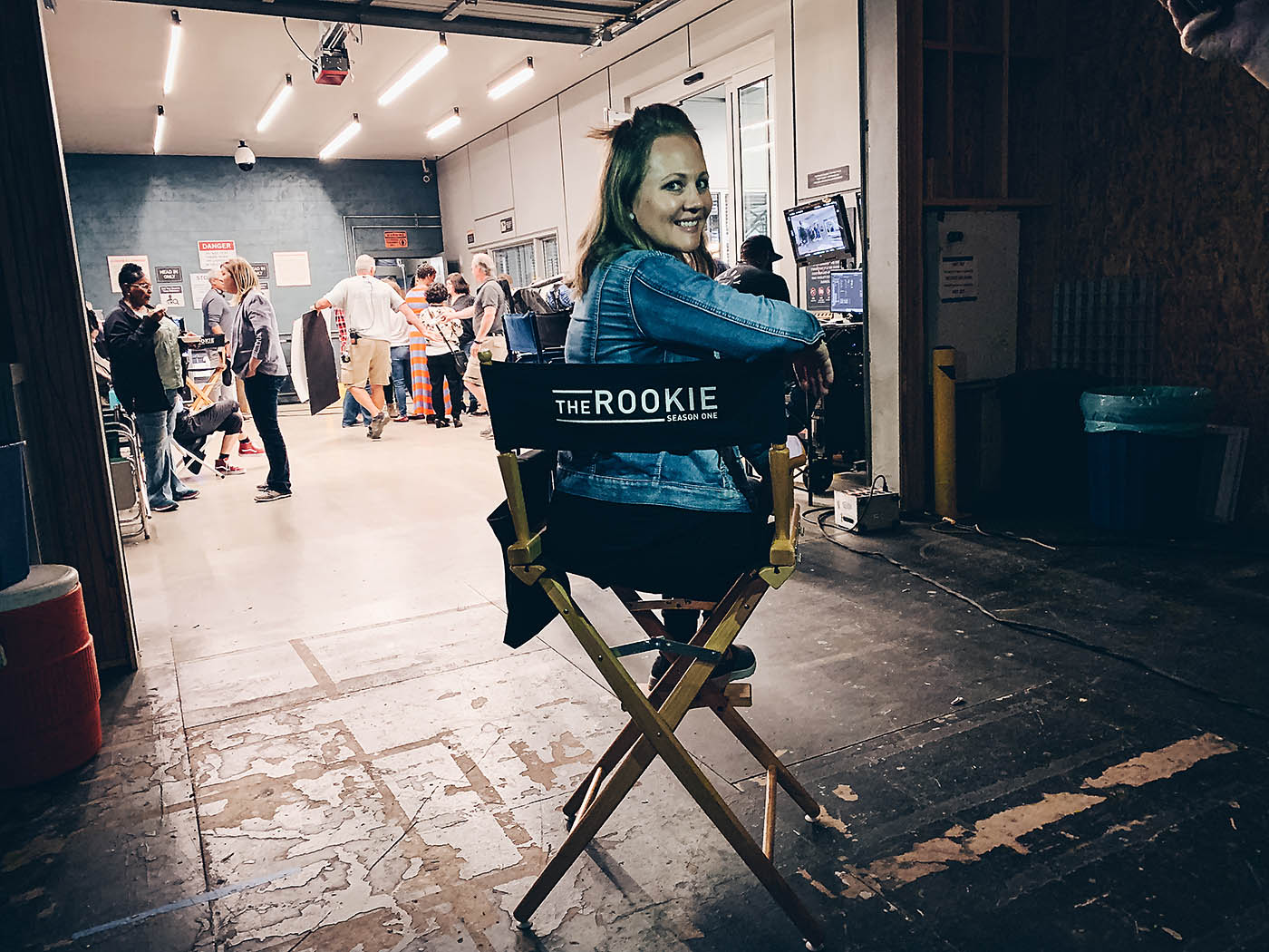 On set of ABC's The Rookie