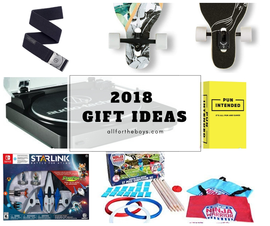 2018 Gift Ideas from allfortheboys.com