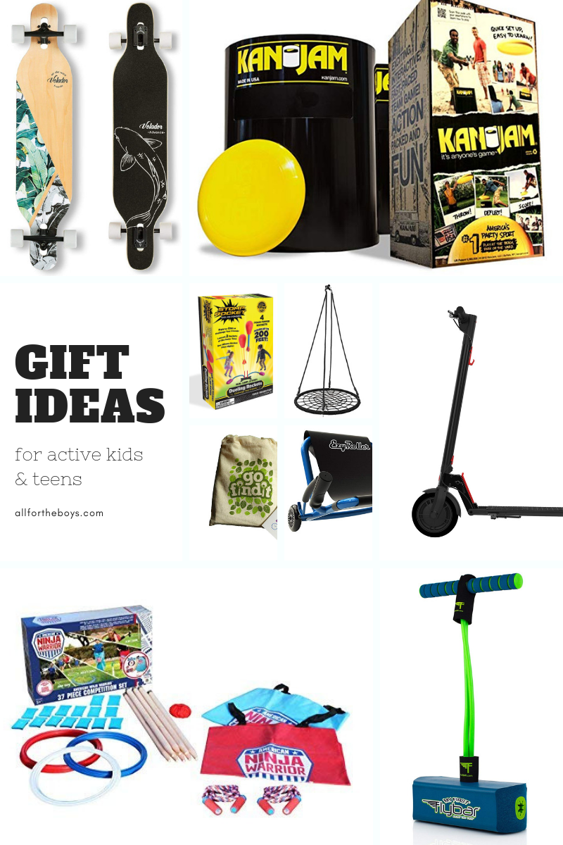 Gift Ideas for active kids and teens