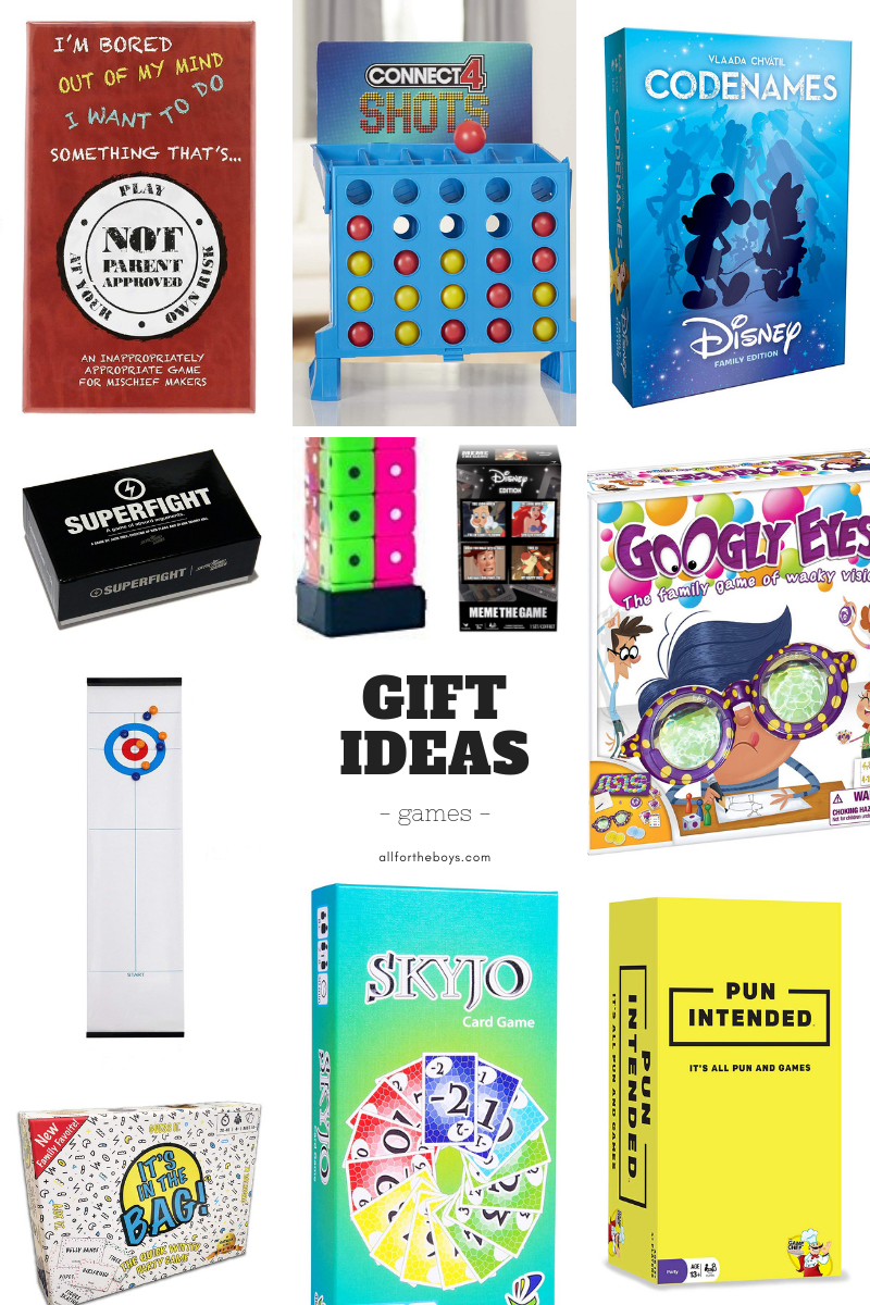Game gift ideas for kids, teens, and familiesf