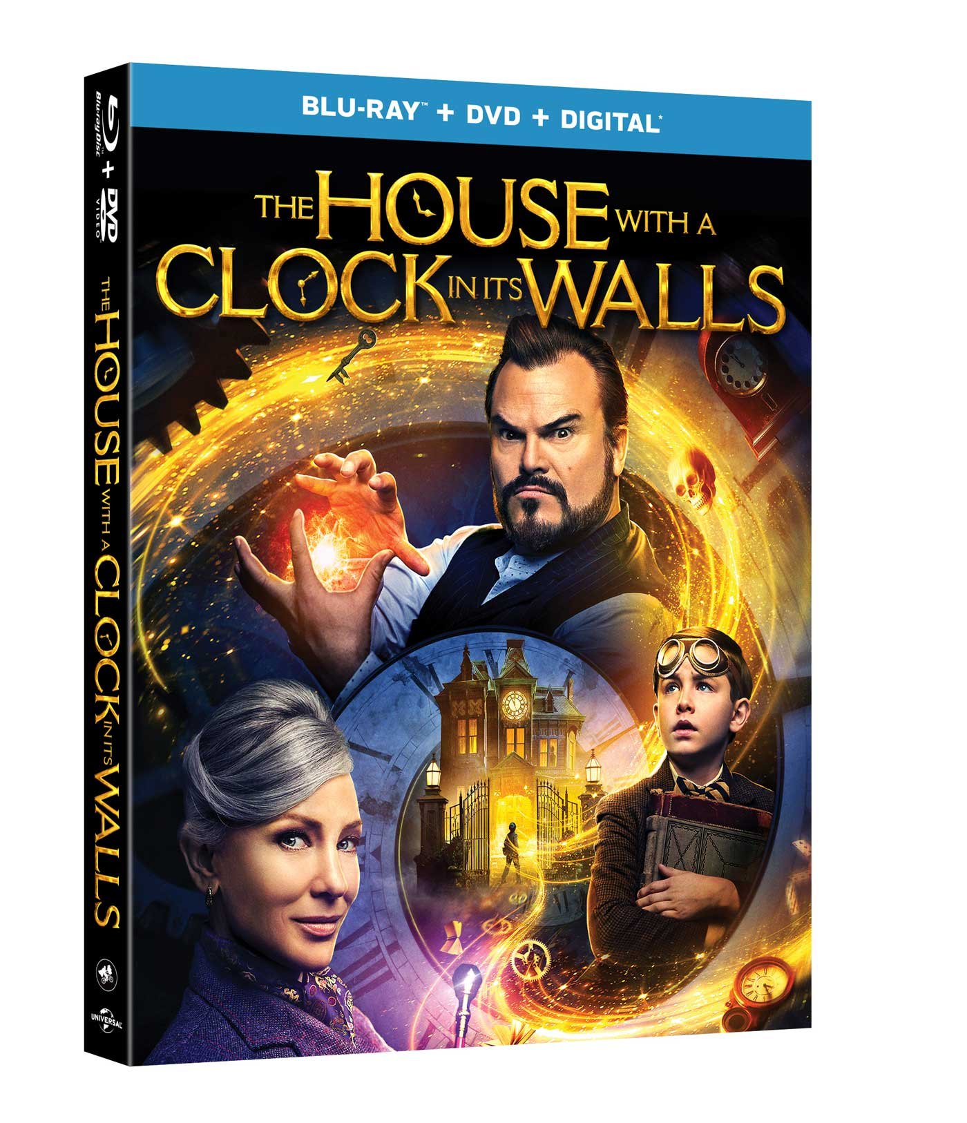 The House With a Clock in its Walls on Blu-ray