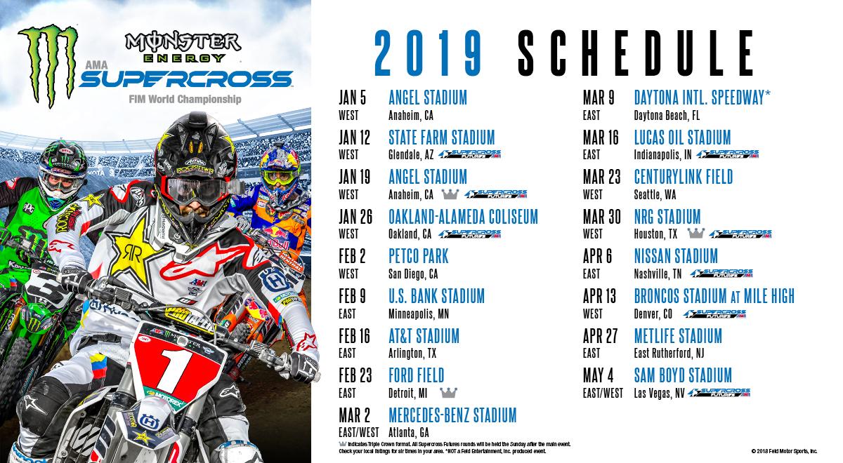 Monster Energy Supercross 2019 Glendale Discount Code