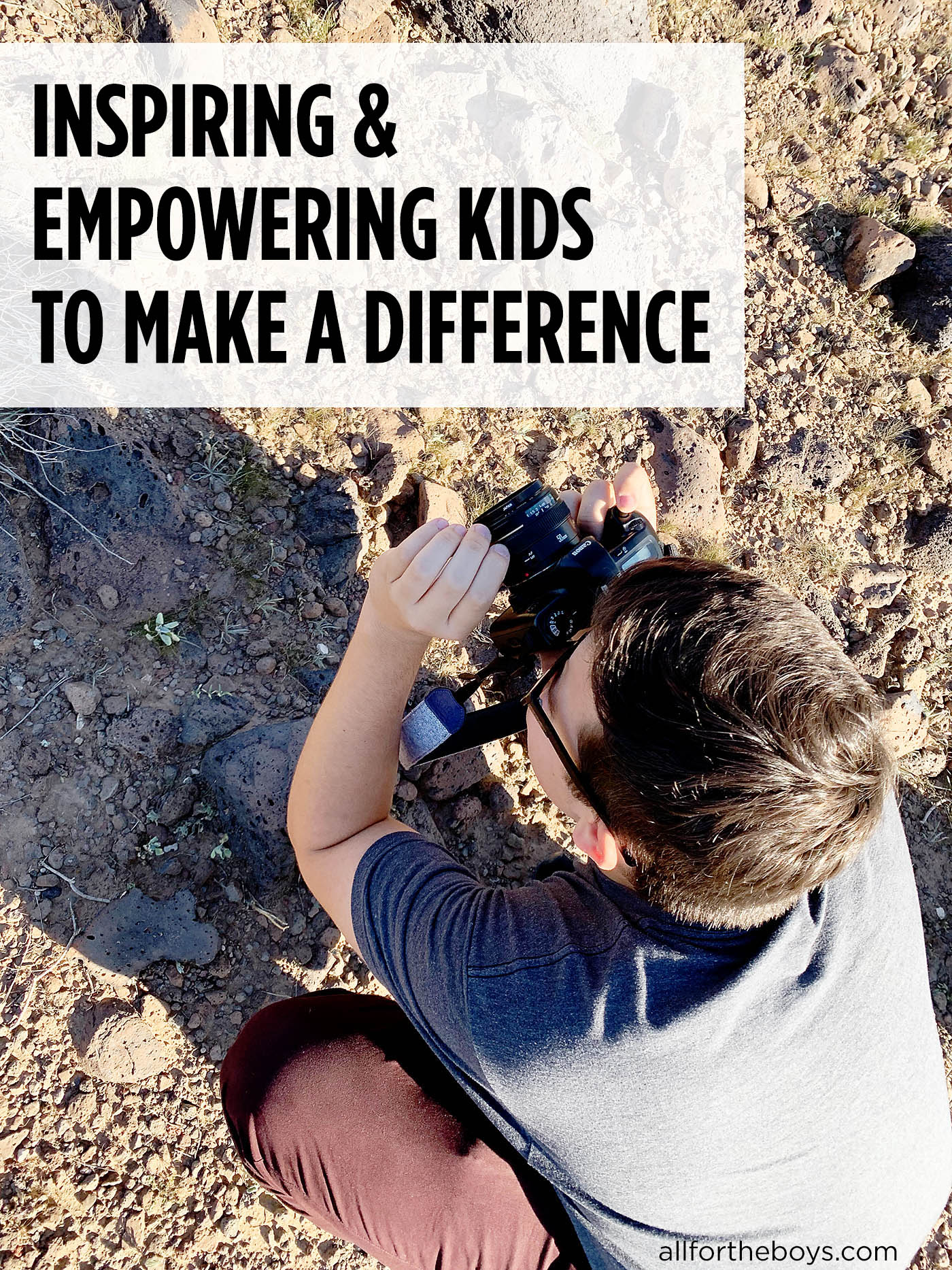 Empowering kids to make a difference