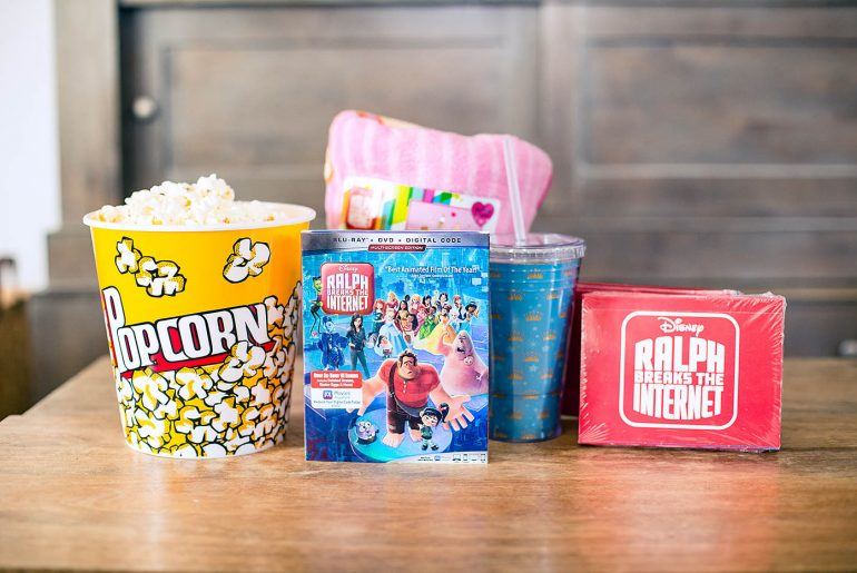How to have a Ralph Breaks the Internet Movie Night
