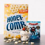 Spider-Man: Into the Spider-Verse Honeycomb® Spider Web Sundae