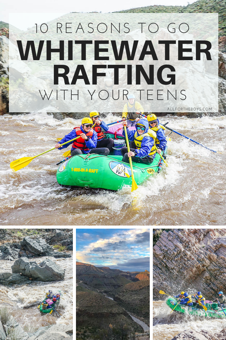 10 Reasons to go Whitewater Rafting with Teens