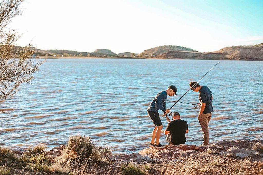 What to do at Lyman Lake - an Arizona State Park