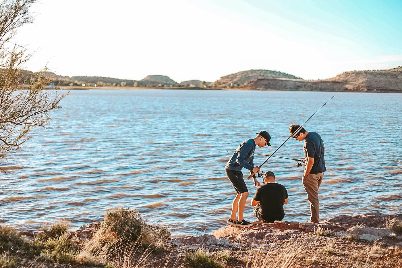 What to do at Lyman Lake - an Arizona State Park