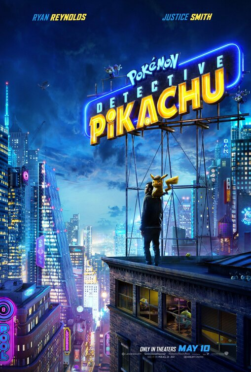 Detective Pikachu movie poster