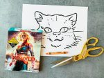 Captain Marvel DIY Goose the Cat Puppet
