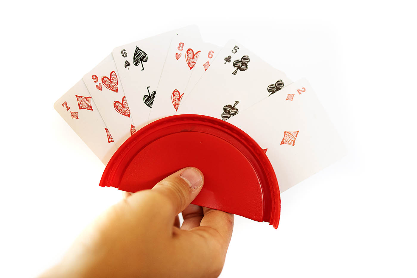 How to make a DIY playing card holder using Plasti Dip Craft for a non-slip rubber coating