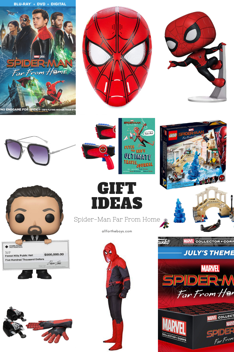 Spider-Man Far From Home Gift Ideas