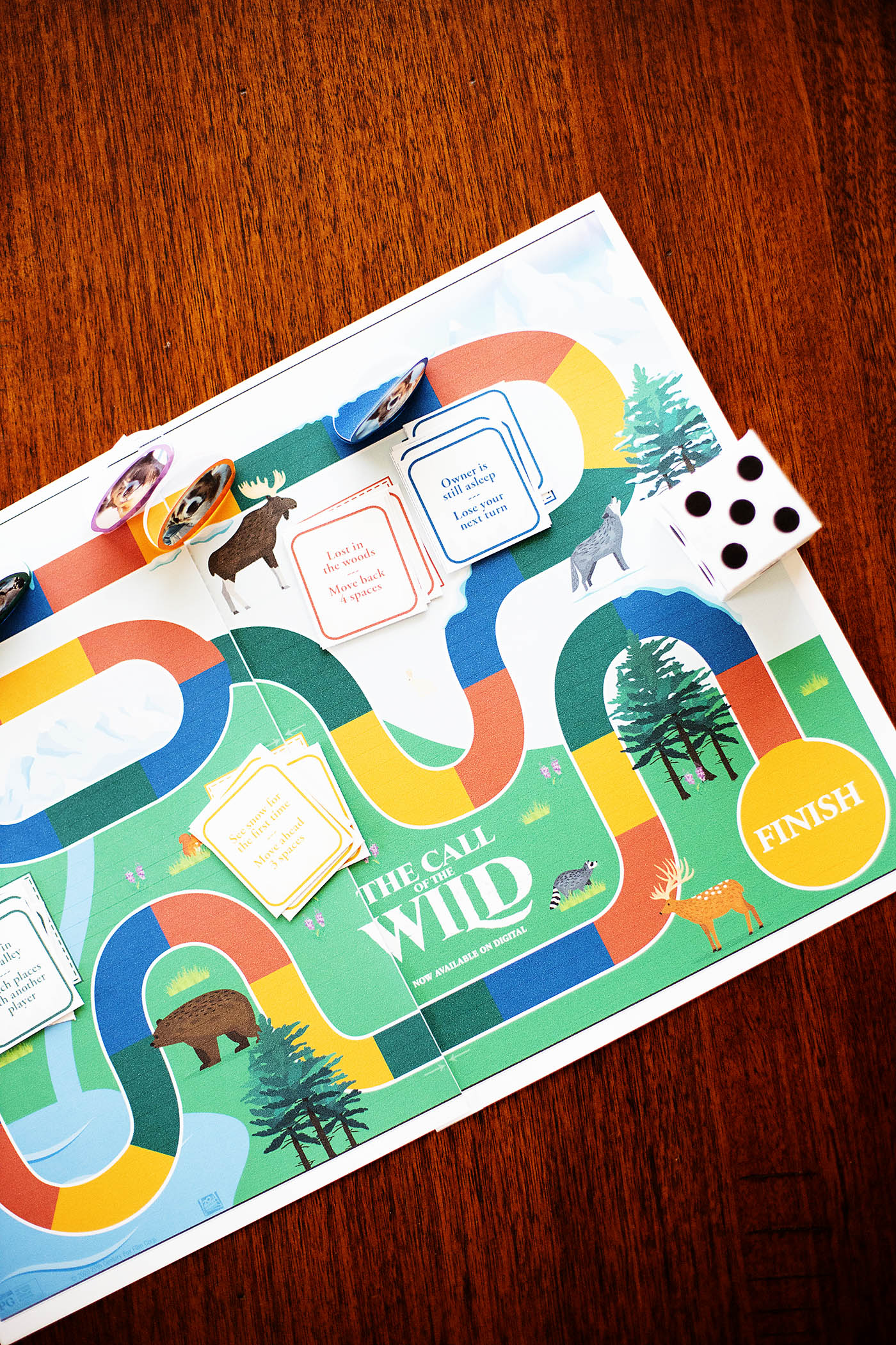 Free Printable Family Board Game Coloring Activity Sheets From Call Of The Wild All For The Boys
