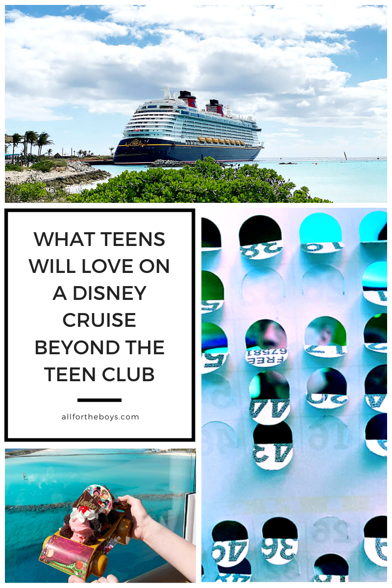 What teens will love about a Disney Cruise beyond the teen clubs