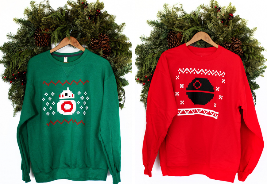 DIY LEGO Star Wars Holiday Special Life Day Sweater